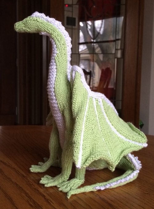 Knitting Pattern For Dragon : Happy Friday! Kim Harrison